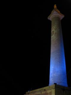 Washington Monument Xmas lighting in the 'hood.